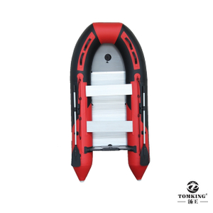 Inflatable Speed boat, Rigid inflatable boat,aluminum floor 4.0M TK-RIB-400