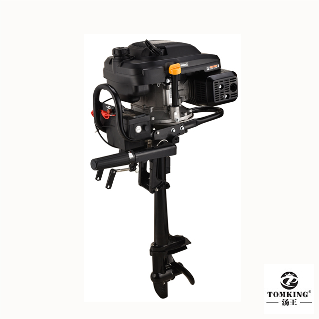 Air-cooled Outboard Motor Zongshen Engine 7.5HP 4-stroke TK139FGE Gasoline Outboard Motor electric start