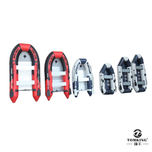 Inflatable boat 3.6M raft, wooden strip floor TK-IB-360